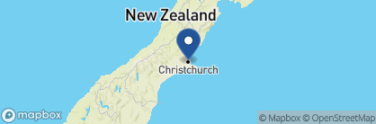Map of The George, New Zealand