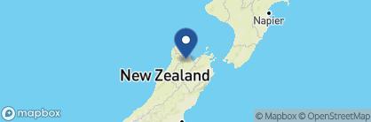 Map of StoneFly Lodge, New Zealand
