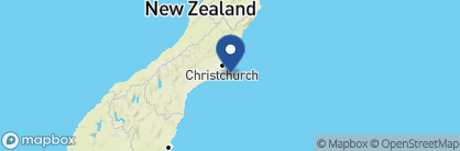 Map of French Bay House, New Zealand