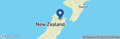 Map of Shelbourne Villa, New Zealand