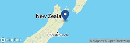 Map of Lemon Tree Lodge, New Zealand