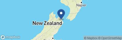 Map of Marlborough Vintners Hotel, New Zealand