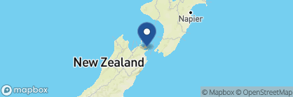 Map of Bay of Many Coves, New Zealand