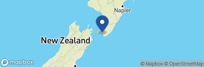 Map of Wharekauhau Country Estate, New Zealand
