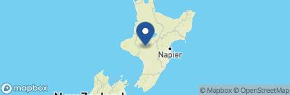 Map of Ruapehu Country Lodge, New Zealand