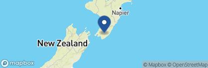 Map of The Martinborough Hotel, New Zealand