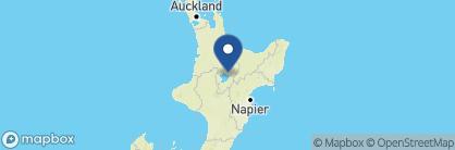 Map of Acacia Cliffs Lodge, New Zealand