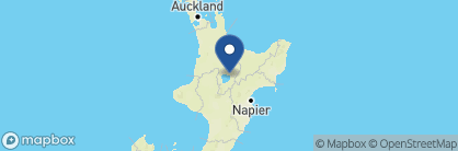Map of Tauhara Sunrise, New Zealand