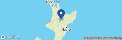 Map of Huka Lodge, New Zealand
