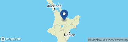Map of Treetops Lodge, New Zealand