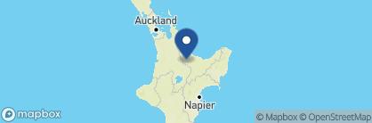 Map of Koura Lodge, New Zealand