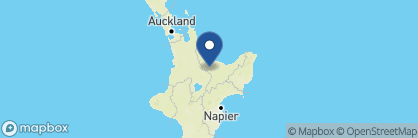 Map of Solitaire Lodge, New Zealand