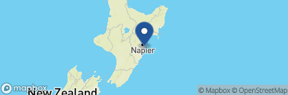 Map of The Farm at Cape Kidnappers, New Zealand