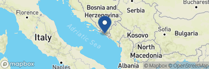 Map of Villa Amelie, Croatia