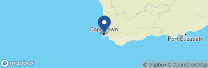 Map of Cape Grace, South Africa