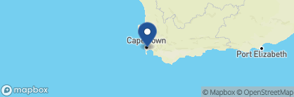 Map of The Vineyard Hotel, South Africa