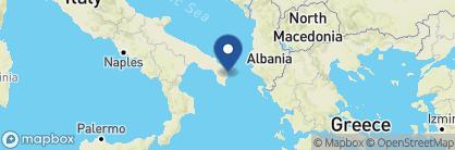 Map of Tenuta Centoporte Resort Hotel, Italy