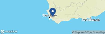 Map of Babylonstoren, South Africa