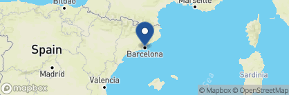 Map of Majestic Hotel & Spa Barcelona, Spain