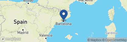 Map of Mercer Hotel Barcelona, Spain