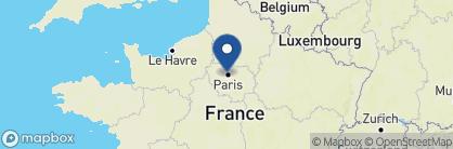 Map of Hôtel Lancaster, France