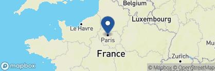 Map of Hôtel La Villa Saint Germain des Prés, France