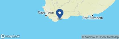Map of Morukuru Beach Lodge, South Africa