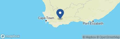Map of Sanbona Explorer Camp, South Africa