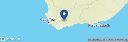 Map of Gondwana Lodge, South Africa