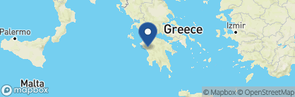 Map of Hotel Europa, Greece
