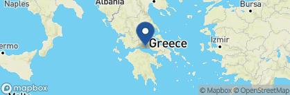 Map of Hotel Ganimede, Greece