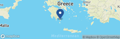 Map of Kinsterna Hotel, Greece