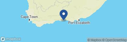 Map of Anlin Beach House, South Africa