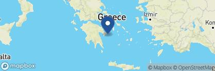 Map of Hotel Leto Hydra, Greece
