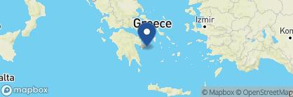 Map of Bratsera Hotel, Greece