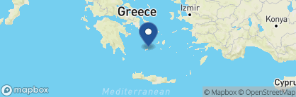 Map of Milos Breeze Boutique Hotel, Greece