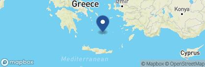 Map of Santorini Secret Suites & Spa, Greece