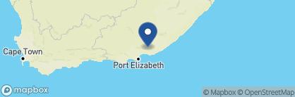 Map of Shamwari Bayethe Tented Lodge, South Africa