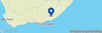 Map of Ecca Lodge, South Africa