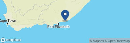 Map of Kariega River Lodge, South Africa