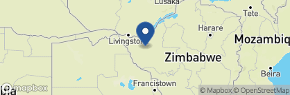 Map of Elephant's Eye, Zimbabwe