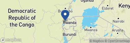 Map of Lake Kivu Serena Hotel, Rwanda