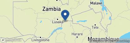 Map of Chongwe River Camp, Zambia