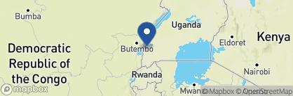Map of Mweya Safari Lodge, Uganda