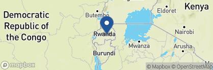 Map of Lemigo Hotel, Rwanda
