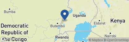 Map of Ndali Lodge, Uganda