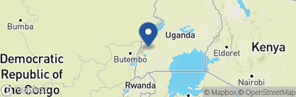 Map of Primate Lodge, Uganda