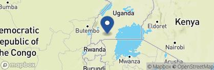 Map of Mantana Tented Camp, Uganda