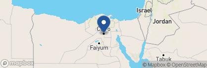 Map of Kempinski Nile Hotel, Egypt