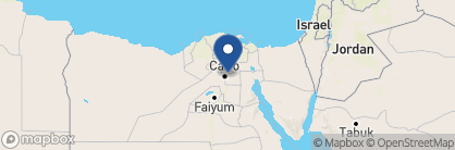 Map of Hilton Towers Heliopolis, Egypt